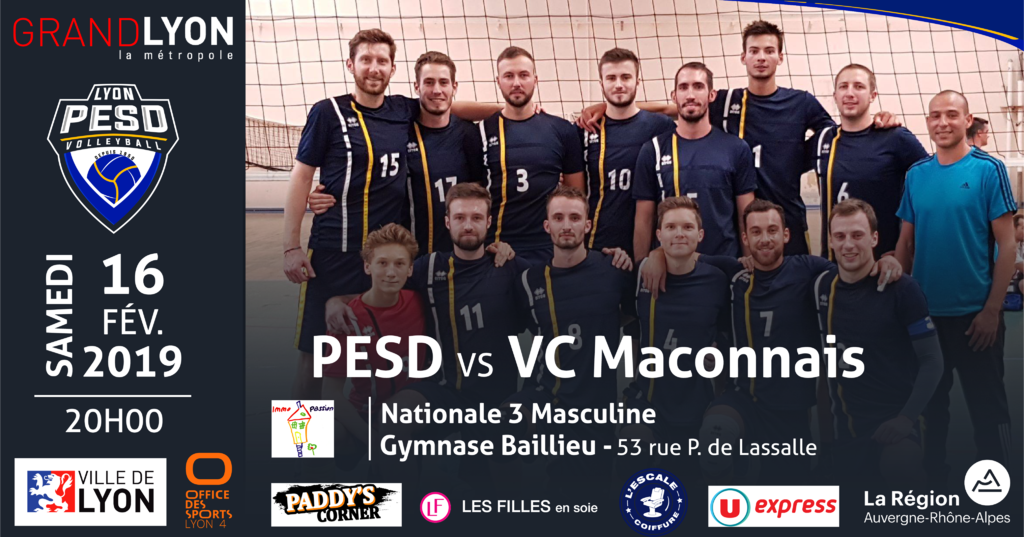 PESD vs Volley Club Maconnais
