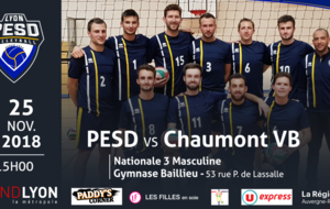 PESD vs Chaumont Volley Ball